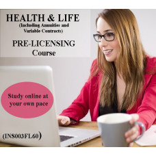 Florida: 60 hr 2-15 Health and Life Insurance Pre-Licensing course (including Annuities and Variable Contracts) INS003FL60