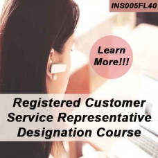 Florida: 40hr 4-40 RCSR - Registered Customer Representative Designation Online Course (INS005FL40)