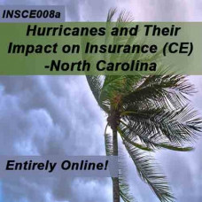 North Carolina - Hurricanes and their Impact on Insurance (CE)