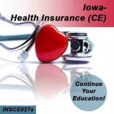 Iowa: 8hr CE - Health Insurance