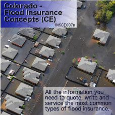 Colorado: 1hr General Lines CE - Flood Insurance Concepts